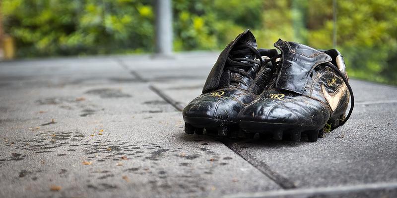 Eine Beziehung ist wie ein Paar Schuhe.